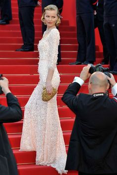 Cannes Film Festival- Eva Herzigova wore Dolce & Gabbana plus Marilyn Monroe-worthy Chopard jewels...