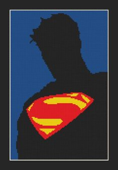 Batman Vs Superman Movie Superhero Cross Stitch Pattern Instant Rh Com Poster In I Am Legend Officiel