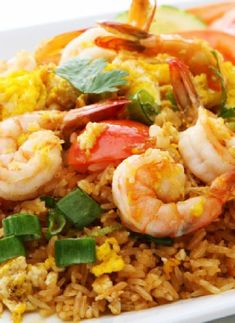 Low FODMAP Recipe and Gluten Free Recipe - Thai fried rice with Shrimp   http://www.ibssano.com/low_fodmap_recipe_thai_fried_rice_shrimp.html