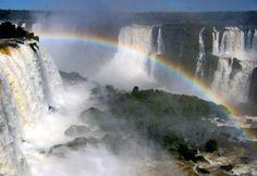 Cataratas do Iguaçu -  Foz do Iguaçu - PR - Arco Iris.