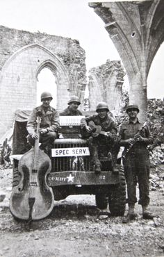 """Special Services, Com-Z 5"", Normandy, 30 June 1944 (24 days post invasion)"