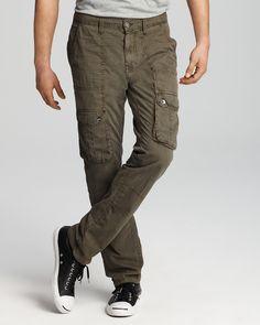 Slim Fit Cargo Pants Mens x0duc52x