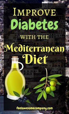 Improve diabetes with mediterranean diet Blood Sugar Diet, No Sugar Diet, High Blood Sugar, Lower Blood Sugar Naturally, Reduce Blood Sugar, Lower Sugar Levels, How To Control Sugar, Diabetes Diet, Salud