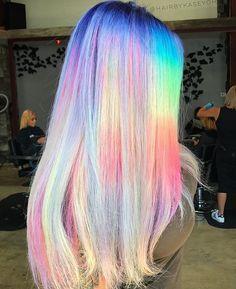 "2,764 Likes, 8 Comments - Alternative Fashion ♡ (@alternativexfashion) on Instagram: ""beautiful pastel neon hair by @hairbykaseyoh  What do you think? #alternativexfashion"""