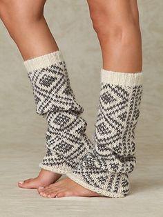Peruvian Pattern Legwarmer - I will learn how to knit leg warmers o.o