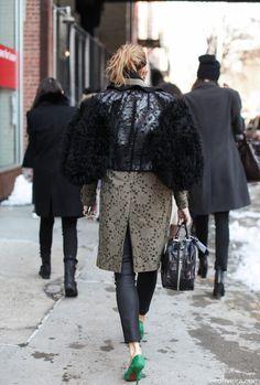Crazy coat love. Pho