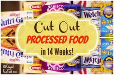 Cut Out Processed Food in 14 Weeks on 100 Days of Real Food --> free weekly email reminders for this 14 week mini-pledge program. It officially begins in January.