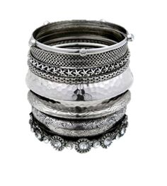 Checkout our #awesome product Fashion Imitation Burnish Silver Multi Line Bangles / Bracelet - Fashion Imitation Burnish Silver Multi Line Bangles / Bracelet - Price: $60.00. Buy now at http://www.arrascreations.com/fashion-imitation-burnish-silver-multi-line-bangles-bracelet.html