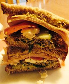 alfalfa sandwich My Recipes, Sandwiches, Food, Recipes, Roll Up Sandwiches, Meal, Essen, Hoods, Paninis