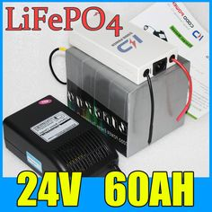 24V 60AH LiFePO4 Battery Pack  1500W Electric bicycle Scooter lithium battery   BMS   Charger  Free Shipping ** This is an AliExpress affiliate pin.  Clicking on the image will lead you to find similar product on AliExpress website