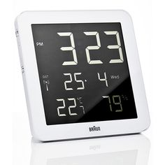 Braun Wall Clock Ref. number BNC014WH-RC