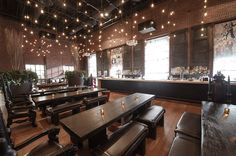 Hudson Common, a Burger Joint in the Hudson Hotel - Eater Inside - Eater NY