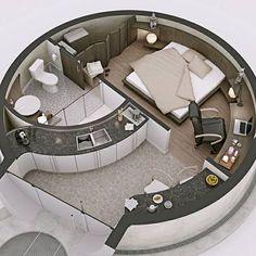 If you wanna turn a Silo into a home!!!!