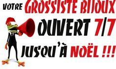 JUSQU'À NOËL, NOS 2 MAGASINS SONT OUVERTS 7j/7 DE 9H30 À 19H !!! RETROUVEZ-NOUS AU 21-23 RUE PIERRE DE FERMAT AUX PORTES DE TOULOUSE À MURET, SUR www.grossiste-toulouse.com OU AU 05-34-51-92-50 !!!