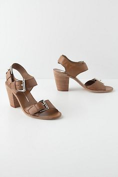 Dually Buckled Sandals - Anthropologie.com