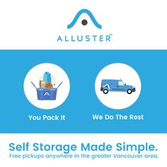 We pick up & bring it back. Free packing boxes. Convenient storage at your doorstep from $5/month. Try Alluster today!