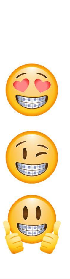 Emoji with brackets