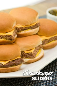Want a burger but don't want to be bogged down by a whole one? Sliders are the best alternative! Add bacon, mustard, ketchup, relish or any other topping for a great party appetizer. #FoodLion