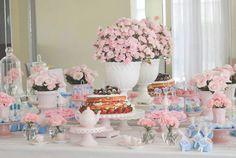 Chá de Cozinha Azul e Rosa - Eu Te Amo Hoje : Eu Te Amo Hoje