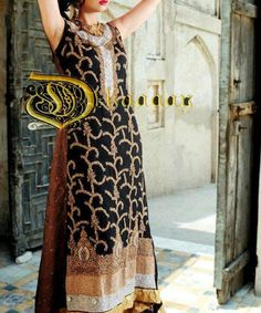 b87bc20cda Dhaagay Winter Party Wear Dresses New Style Fashion Eid Dresses