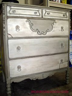 Decoration Ideas : Mommy Is Coo Coo Painted Amp Glazed Antique Dresser Refurbished Furniture, Paint Furniture, Upcycled Furniture, Furniture Projects, Furniture Makeover, Vintage Furniture, Home Furniture, Dresser Makeovers, Dresser Ideas