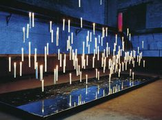 Baby Names Discover Ingo Maurer Fly Candle Fly! pendant lamps at room lights online shop Lighting Concepts, Modern Lighting, Lighting Design, Event Lighting, Stage Lighting, Blitz Design, Table Led, Ingo Maurer, Church Stage Design