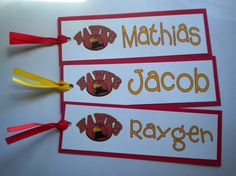 Personalized bookmarks for kids