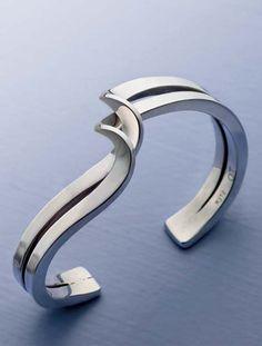 Twisted Sterling Cuff Jewelry Making Project | InterweaveStore.com