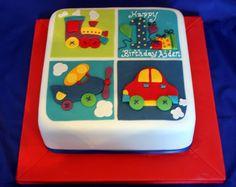 Cute cake for Benton's birthday!