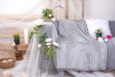 Deka mikrovlákno - světle šedá 200x230 cm Table Decorations, Wedding Dresses, Furniture, Home Decor, Bride Dresses, Bridal Gowns, Decoration Home, Room Decor