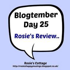 Rosie's Cottage: Blogtember Day 25: Rosie's Review: The Puripod