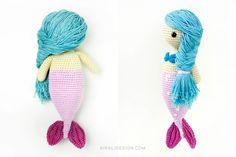 Sandra The Mermaid Amigurumi Pattern