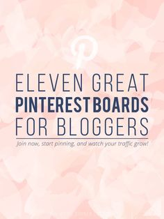 11 Great Pinterest Group Boards for Bloggers - The White Corner Creative