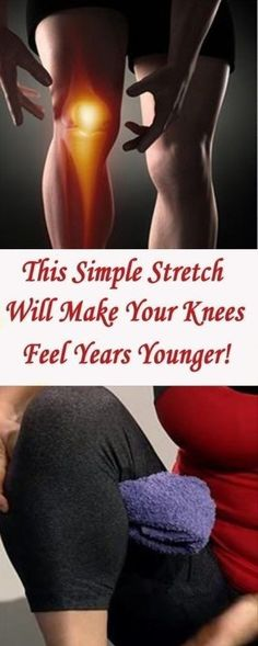Knee pain affects many people, and it's predicted that by the age of 85, 50%