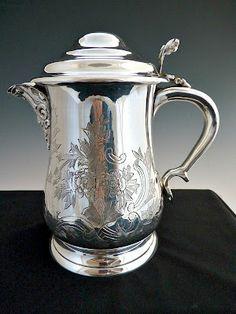 My Antique World: Decoration techniques on antique silver