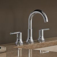 3559 Mpu Dst Trinsic Bathroom Widespread Double Handle Bathroom Faucet With Drain Assembly And Diamond Seal Technology