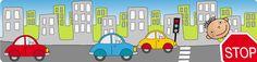 Prévention route enfants, apprendre les panneaux de signalisation et se prémunier contre les dangers de la route Core French, Transportation, Alice, Back To School, Day Care, Rural Area