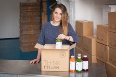 Want to know more about our founder and Managing Director Alexandra Auger? Why not have a listen to her interview with Daudi Mugabi on her inspirations, juicing, and how THINK Press really began!
