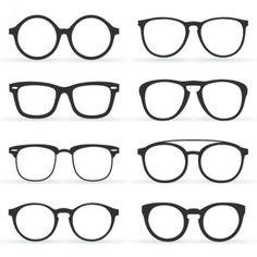 Glasses in retro style Free Vector Cartoon Girl Drawing, Guy Drawing, Cartoon Drawings, Easy Drawings, Anime Guys With Glasses, Hot Anime Guys, Girls With Glasses, Hipster Glasses, Adjusting Glasses
