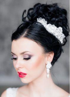Updos For Medium Length Hair, Hair Lengths, Crown, Beautiful, Fashion, Moda, Corona, Fashion Styles, Fashion Illustrations