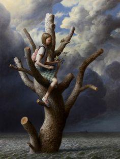 "Aron Wiesenfeld ""The tree"""