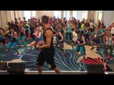 Aqua Zumba - A taste of ORLANDO ZINCON boost today with awesome instructors -Ella Es mi Fiesta - YouTube