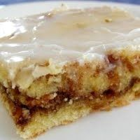 Honey Bun Cake. No surprise that I'm dying to try this!