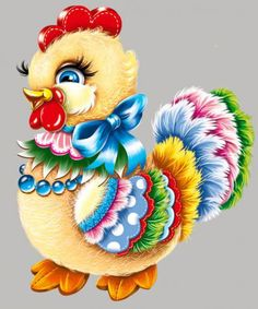 """Photo from album """"Символ 2017 года"""" on Yandex. Chicken Crafts, Chicken Art, Baby Animal Drawings, Beautiful Chickens, Alcohol Ink Crafts, Chickens And Roosters, Acrylic Painting Techniques, Cute Clipart, Noel Christmas"""