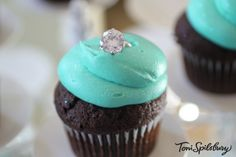 Breakfast at Tiffanys Cupcake
