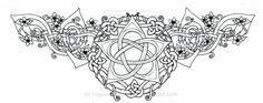 pentacle tattoos | Celtic Lotus Pentacle Tattoo by ~roguewyndwalker on deviantART