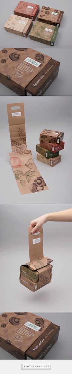 Nonna Carmela / Student Project/          pasta packaging for mothers with newborns