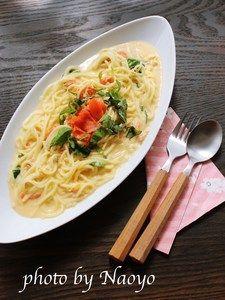 5分で完成!糖質0麺のサーモンクリームパスタ Asian Recipes, Ethnic Recipes, Asian Foods, Japanese Food, Bon Appetit, Food And Drink, Favorite Recipes, Pasta, Chicken