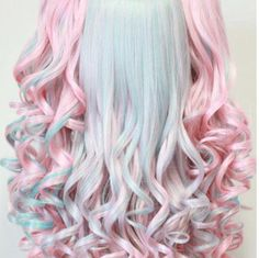 DIY Pastel Hair