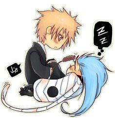Bleach: cat nap by animegirl000